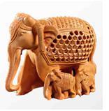 BABY ELEPHANT UNDERCUT INLAID