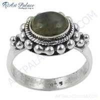 Ethnic Designer Labradorite Gemstone Silver Ring