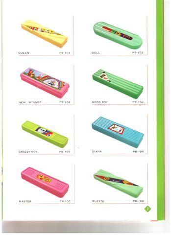 Plastic Pencil Case