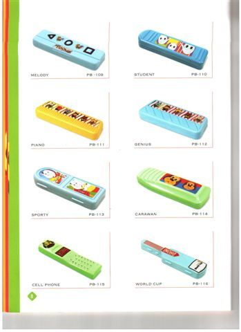 Plastic Pencil Boxes