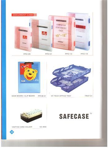 Plastic safe case