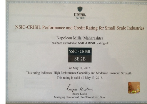 CRISIL Performance and Credit Rating