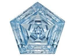 designer gemstone for jewelry settings, pentagon cut blue stone for sale, Fancy cut blue topaz