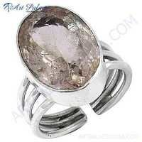 Classic Cubic Zirconia Sterling Silver Ring