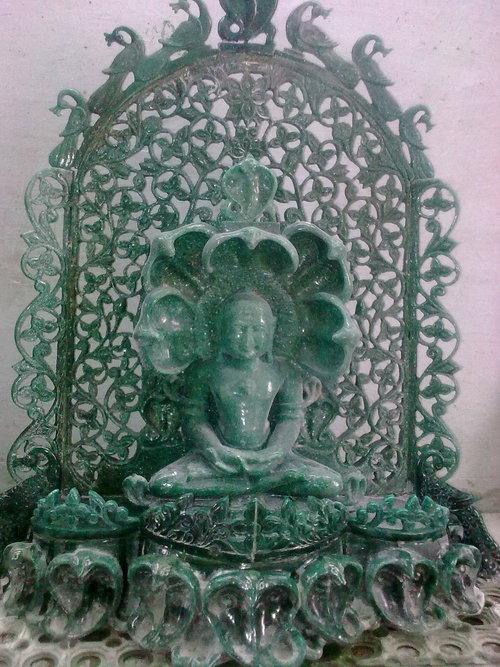Black Stone Statue