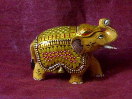 wooden decorative elephant