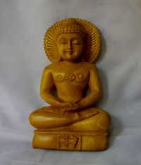 Small Wooden Buddha Statue