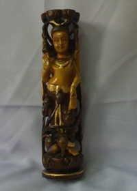 Wooden Shiva Statue