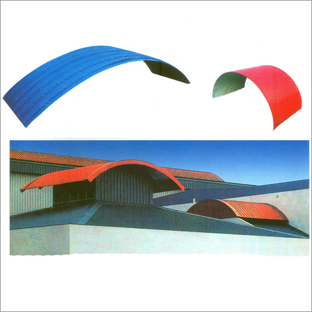 Corrugated Curved Roofing