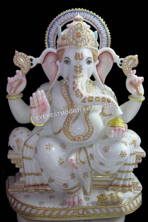 Marble Lord Ganesha Statue