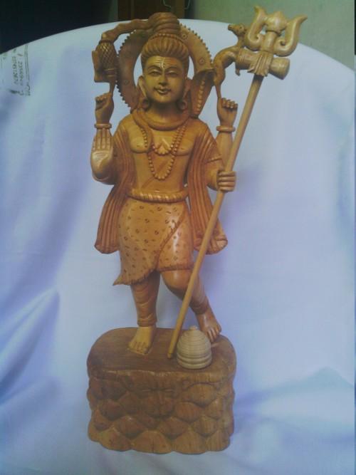 Shiva Statue in Wooden