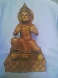 Hanuman statue in Wooden