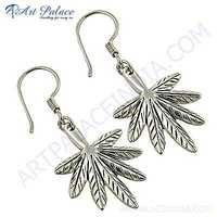 Rady to Wear Plain Silver Earrings