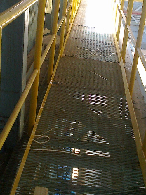 Galvanized Expanded Metals Grating