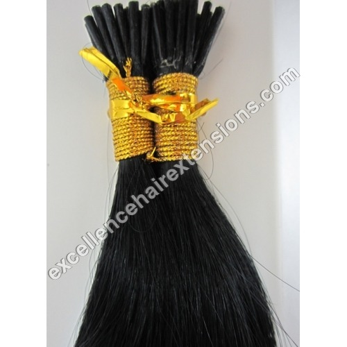 Remy I-Tipped Keratin Hair Extensions