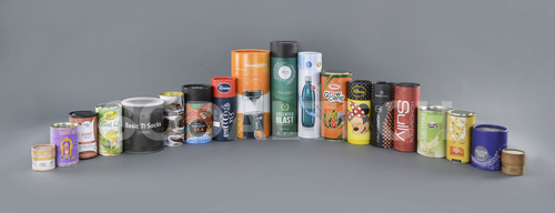 Paper Tin Cans