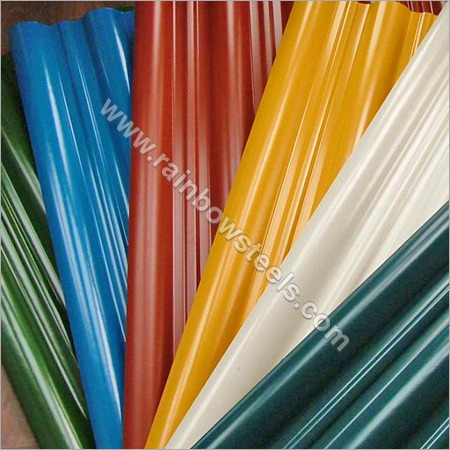 PC PVC Corrugated Roofing Sheet
