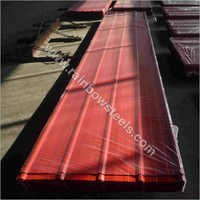 Corrugated Steel Sheet Red