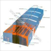 Colour Coated Hi Rib Profile Sheets