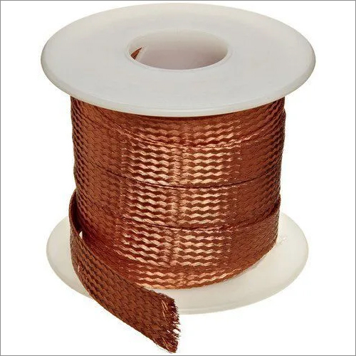 Bare Braided Copper Strip