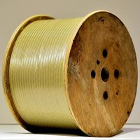 Fiber Glass Covered Copper Strip