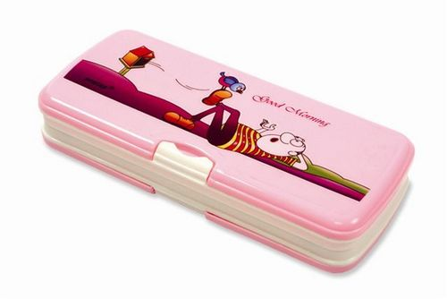Pink Pencil Box