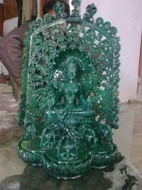 Wooden Goddess Statue