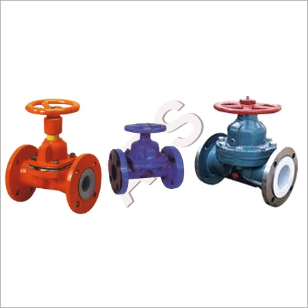 FEP PFA lined Diaphragm Valves