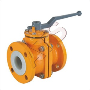 PTFE (FEB PFA) Lined Ball Valve