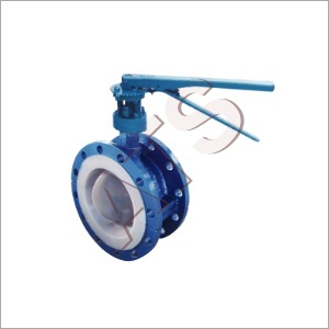 FEP PFA lined Butterfly Valves