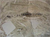 White Pulp Card Cutting Paper Waste