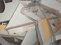 Laminated Duplex Corrugated Paper Waste