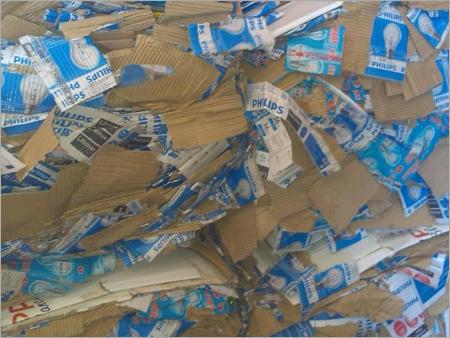 Duplex Corrugated Paper Waste