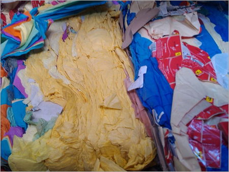 Colour Tissue Paper Cutting Waste