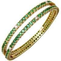 Elegant Emerald Ethnic Bangle Set Expoter