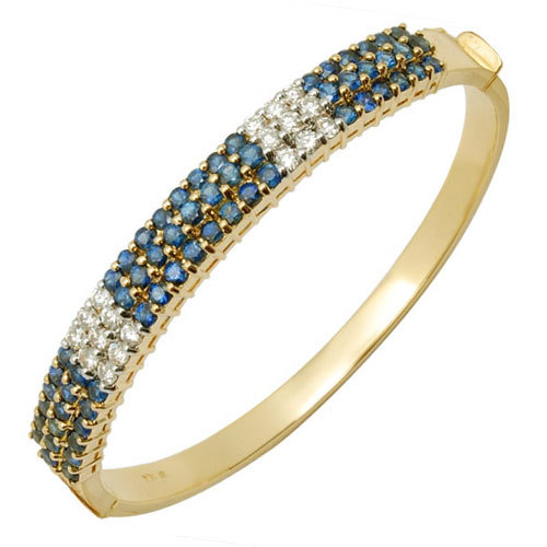Precious Gemstone Bangle Jewellery