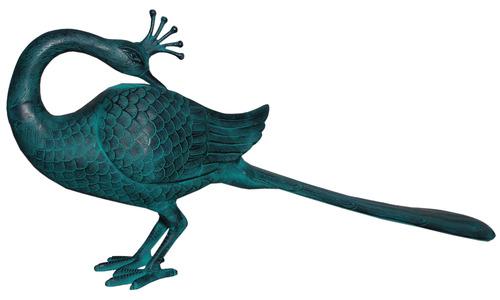 Aluminium Peacock Statue