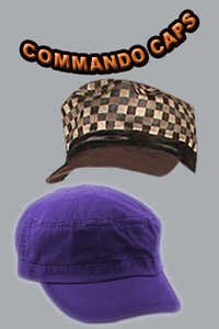Commando Caps
