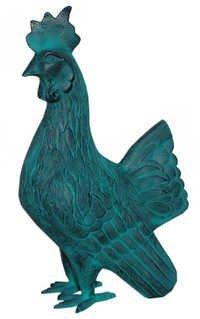 Rooster Sculpture for Garden