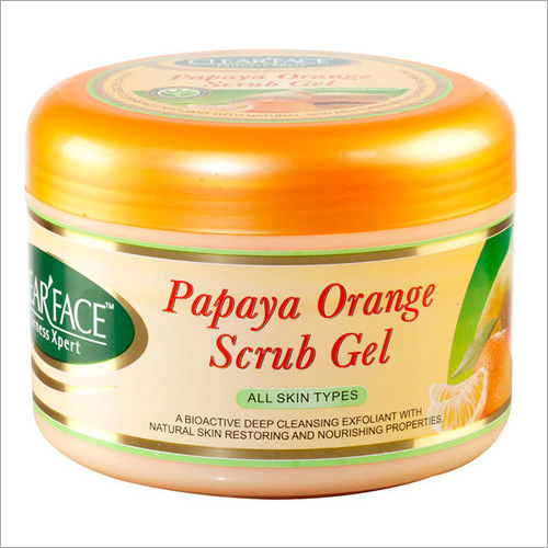 Papaya Orange Scrub Gel
