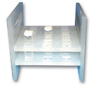 Spectrophotometer Cell Rack