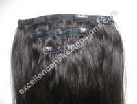 Virgin Hair Clip-on Extension