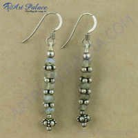 Various Styles Labradorite  Gemstone Silver Earrings, 925 Sterling Silver Jewelry