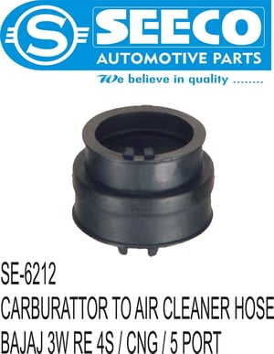 CARBURETTOR TO AIR CLEANER HOSE