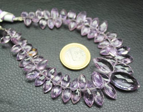 Pink Amethyst Beads