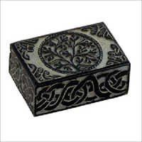 Carved Stone Boxes