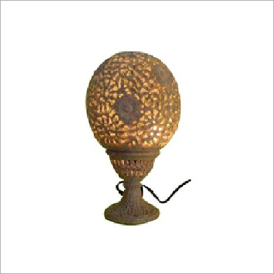 Stone Carved Lamps