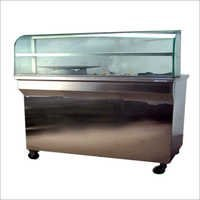Chaat Counter With Burner