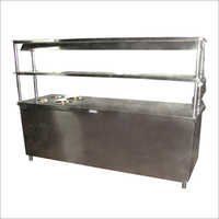 Pick Up Counter With Bain Marie