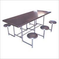 SS 6 Seater Dining Table